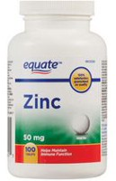 Equate Zinc Tablets
