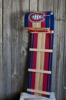 "JAB Montreal Canadians 4"" High Toboggan and 86slats wide"