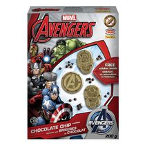 Biscuits aux brisures de chocolat Marvel Avengers de Funcookies