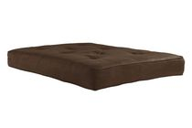 DHP 8-inch Microfiber Coil Futon Mattress Brown