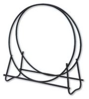 "Blue Rhino W-1881 40"" Black Diameter Log Hoop"