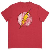 The Flash Tee Shirt, Short Sleeves, Scoop Neck for Men L