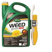 Scotts® Weed B Gon® MAX Ready-to-Use Weed Control for Lawns with Wand Applicator 5L
