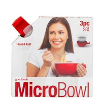 Good Cook 3-Piece Ceramic Micro Bowl Set