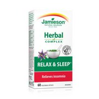 Jamieson Natural Sources Relax and Sleep Capsules