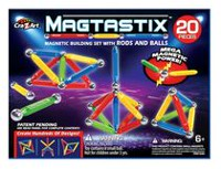 Cra-Z-Art MagTastix Magnetic Construction Building Set 20 Pieces
