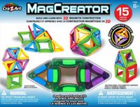 Cra-Z-Art MagCreator Magnetic Construction Building Set 15 Pieces