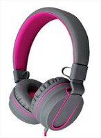 Polaroid PHP8556 On-Ear Wired Headphones with Microphone - Pink Pink