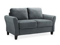 Lifestyle Solutions Alexa Grey UPSable Loveseat