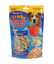 Omega Paw Tricky Treat Ball Treats for Dogs - Chicken Meal Formula