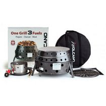 Volcano 3 Cook Stove - with Propane Attachment Kit
