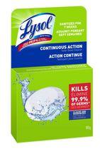 Lysol Toilet Bowl Cleaner, Continuous Action Puck, 100 g