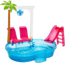 Barbie Glam Pool Playset