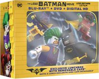 The Lego Batman Movie (Walmart Excl. Lunchbox With Removable Cape) (Blu-ray + DVD + Digital HD) (Bilingual)