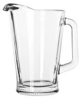 Libbey 60 oz./1.77 L Glass Pitcher