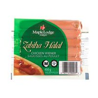 Maple Lodge FarmsMD Saucisses au poulet Zabiha Halal