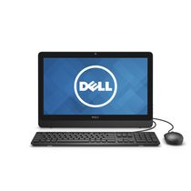 Dell Inspiron 20 3000 Series i3059-3156BLK Jasmine Desktop with Intel Core i3-6100U 2.3 GHz Processor