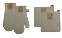 Fouta Oven Mitt & Pot Holder Set
