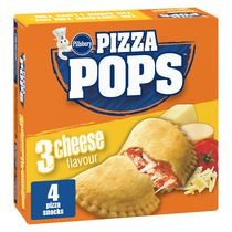 Pillsbury Pizza Pops Three Cheese Pizza Snacks