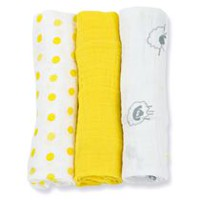 Lulujo Receiving Blankets - Sunshine Yellow