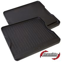 "Camp Chef 16"" x 14"" Cast Iron Reversible Griddle"
