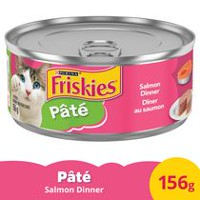 Purina® Friskies® Pate Salmon Dinner Cat Food 156g Can