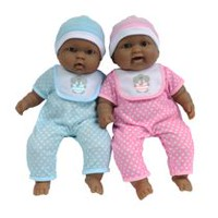 Poupon jumeaux de 13 po Afro-Américains Lots to Cuddle Babies de Baby Boutique