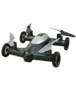 Xtreme Black Fly and Drive Quadcopter