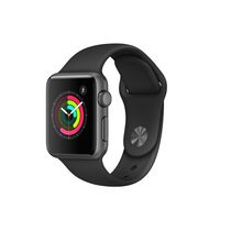 Apple Watch Series 1 38mm Space Grey Aluminum Case with Black Sport Band