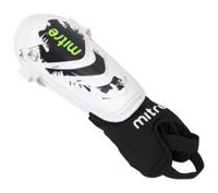 Mitre Mayan Adult White/Black/Green Shin Guard