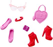 Barbie Fashion Accessory Pack - Pink and Red