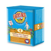 Earth's Best Chlorine Free Diapers Size 4