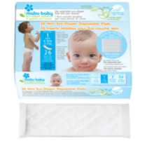 Mabu Baby Eco-Diaper System Disposable Diaper Pads SIZE 1
