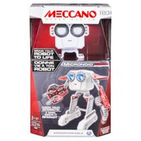 Meccano MicroNoid Red Socket Playset