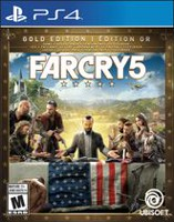 Far Cry 5 Steelbook Gold Edition (PS4)