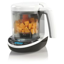 Baby Brezza All-in-One Steamer & Blender One Step Baby Food Maker Complete, with Pouch + Funnel System
