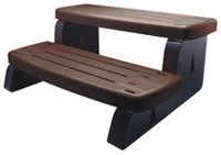 Canadian Spa Co. PVC Spa Steps - Brown