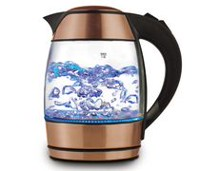 Brentwood 1.8 Liter Electric Glass Kettle with Tea Infuser