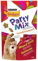 Purina(MD) Friskies(MD) Party Mix(MC) Croquant Grillade Gâteries pour Chats Sac de 60 g 60g