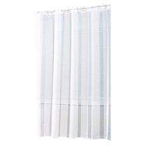 hometrends Pearl Stripe Fabric Shower Curtain