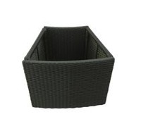 Canadian Spa Surround Furniture Round Spa Planter