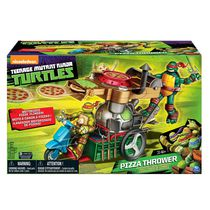 Teenage Mutant Ninja Turtles Pizza Thrower Toy Vehicle