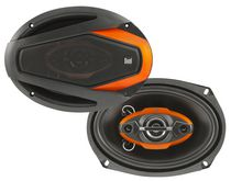 "Dual DLS694G 6""x 9"" 4-Way Speakers"