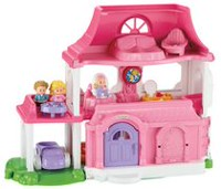 Fisher-Price Little People Happy Sounds Home - English Edition