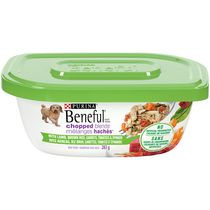 Purina(R) Beneful(R) Chopped Blends(TM) with Lamb, Brown Rice, Carrots, Tomatoes & Spinach Dog Food