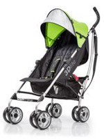 Poussette pratique 3D Lite de Summer Infant Lime