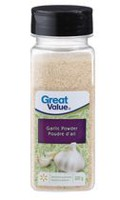 Poudre d'ail de Great Value