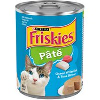 Purina® Friskies® Pate Ocean Whitefish & Tuna Dinner Cat Food