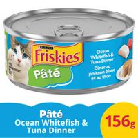 Purina® Friskies® Pate Whitefish & Tuna Dinner Cat Food