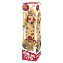 Cardinal Games Giant Sized Jumbling Tower - 51 Gant Wood Pieces - Walmart Exclusive